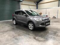 2014 Ford kuga Titanuium 2.0tdci 4wd 1 owner leather guaranteed cheapest in country