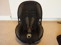 Maxi Cosi XP Priori child car seat - black reflection