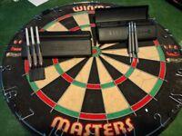 Dart Board - Winmau masters and 2 sets of darts