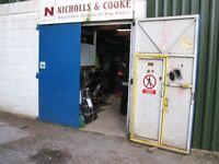 Secure Workshop/Storage