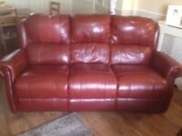 Brilliant condition settee and armchair for sale