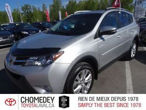 2013 Toyota RAV4 Limited (A6)CUIR TOIT GPS MAGS