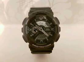 Cheap Casio GShock. Rare Black with White Screen