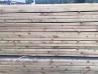 Timber rails c16 pressure treated