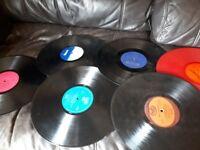Job lot of vinyl lp records