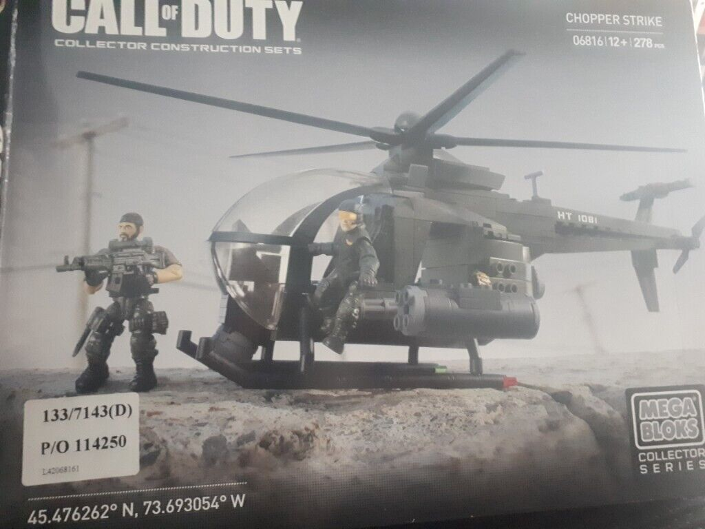 Lego Call Of Duty Collectors Series Chopper Strike In Leicester Leicestershire Gumtree