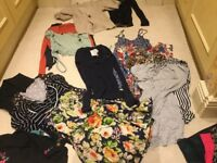 Bundle of Size 8/10/12 ladies clothes tops, jumpers, skirts!!