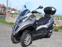 2009 Piaggio MP3 LT400 / 400LT trike ride on car license only 6000 miles, Yourban, Gilera Fuoco