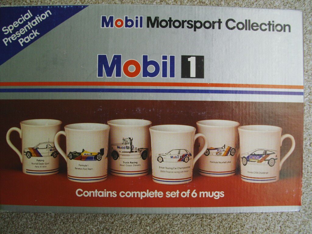Collectable Motorsport Mugs