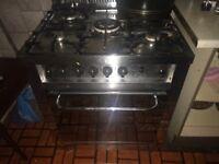 Big gas cooker 6 burner quality cooker cheap £140