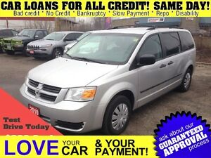 2010 Dodge Grand Caravan SE * VAN LOANS FOR ALL FAMILIES