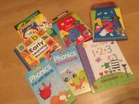 Phonics/numbers educational learning books