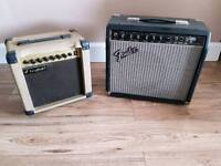 Fender & Westfield amps