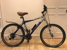 Trek 4500 Alpha Sl Aluminium Mountain Bike Blue/Silver frame