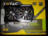 Zotac Gtx 1050ti 4GB Graphics Card