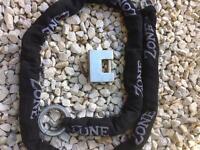 Zone armoured chain lock