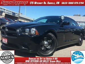 2012 Dodge Charger   X POLICE VEHICLE   CRUISE CONTROLS   REMOTE