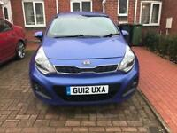 2012 KIA Rio 1.4 3 5dr Blue Service History Part Ex Welcome