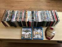 *CHEAP* 55 DVD & BLU RAY BUNDLE Superheroes Batman Jurassic Park Transformers etc