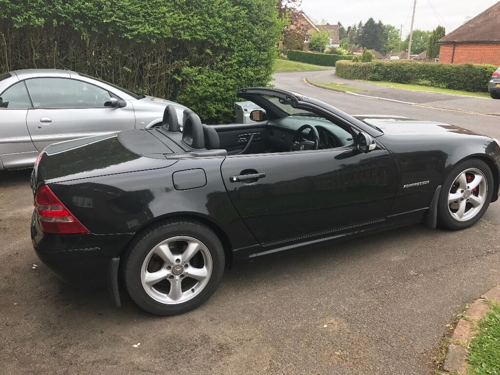 mercedes slk 200 2003 in excellent condition 163bhp in guildford surrey gumtree. Black Bedroom Furniture Sets. Home Design Ideas