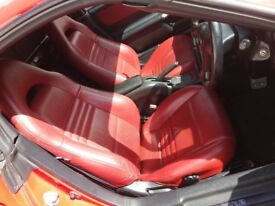 Toyota MR2 Roadster Red Edition Leather Interior