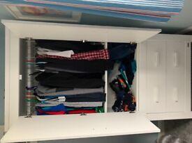 Child's wardrobe - white