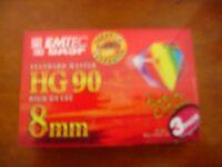 New 8mm analogue tape