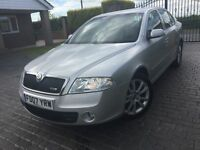 \\\ 07 SKODA OCTAVIA VRS \\\ 1 OWNER FSH \\\ STUNNING NOW ONLY £3499 ,,,