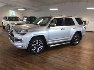 2016 Toyota 4Runner SR5 Limited  4.0 L 4X4, Leather, Navigation