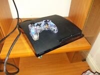 Ps3 with games and 2 controlers