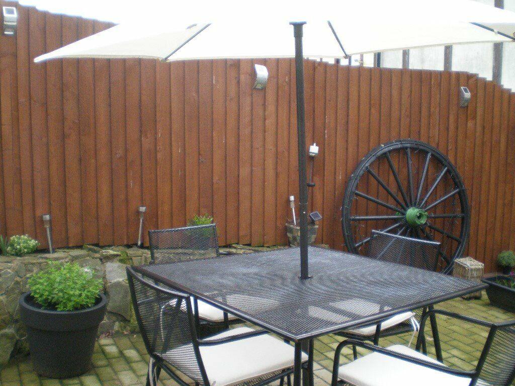 Garden complete furniture set