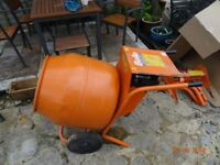 Belle Petrol Mixer. New petrol engine, only used for DIY, See Photos