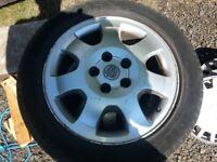 16 inch mariva / zafira alloys with good tyres