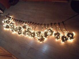 outdoor string/curtain lights 1392 bulbs