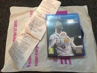 Fifa 18 with Game disc care