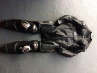 Arlen Ness racing leather suit. Titanium/Kangaroo size 42.