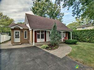 325 000$ - Maison à un étage et demi à vendre à Candiac