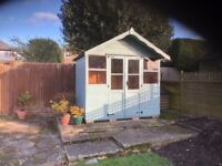 Garden summerhouse/shed 8ft x 5ft
