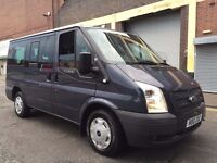 Ford Transit 2012 2.2 TDCi 280 SWB Trend Low Roof Tourneo Bus 9 seats M1, 2 YEARS WARRANTY, NO VAT