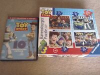 Toy Story DVD 10th anniversary edition + jigsaw puzzle