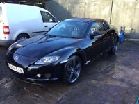 Mazda RX8 in black and low miles