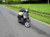 VESPA LX50 2T BLACK MATT! GOOD CONDITION 1200£ ONO