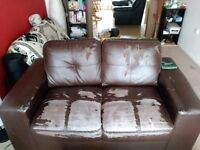 2 Sofa (the one in the picture and another one) 30 Pounds, Only Collect