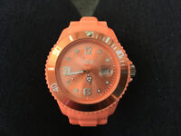 Ice Silicone Fusion Coral Big watch - Brand New