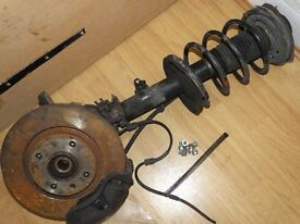 306 COMPLETE SUSPENSION STRUT WITH DISC & CALIPER & PADS