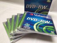 Verbatim DVD RW x5
