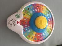 Leapfrog alphabet spin a wheel
