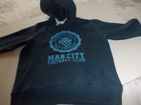 Manchester City boys hoodie