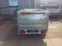 NEW Car trailers double broadside