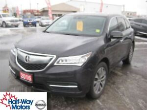 2016 Acura MDX Nav Pkg | BOXING WEEK SALE! NOW $267 bi-weekly!
